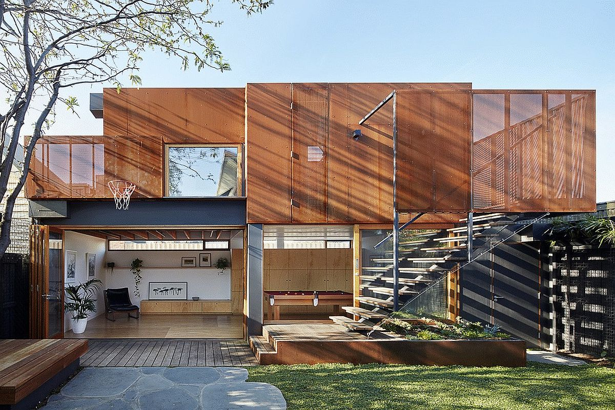 Modern Addition to Family Residence Also Doubles as a Standalone Home