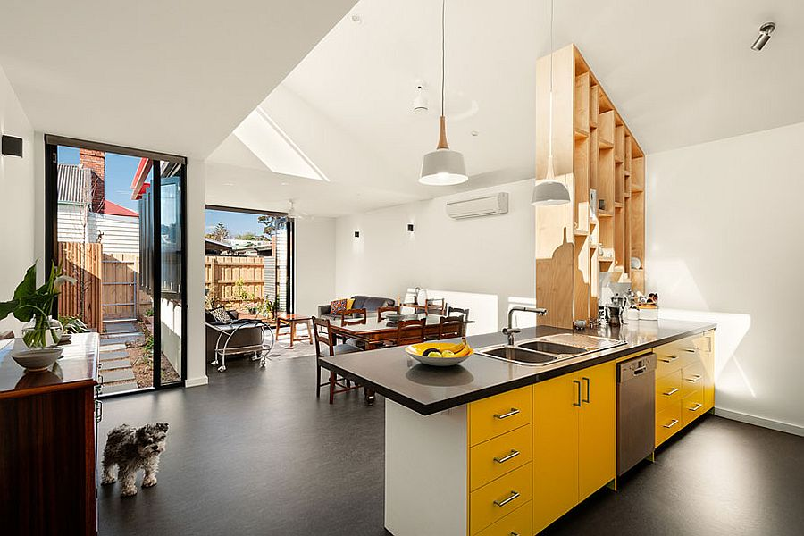 Open-plan-living-area-with-kitchen-and-dining-of-the-renovated-Victorian-home