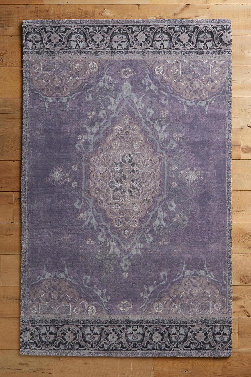 Ornate-rug-in-violet