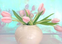 Pink-tulips-in-a-Deco-vase-217x155