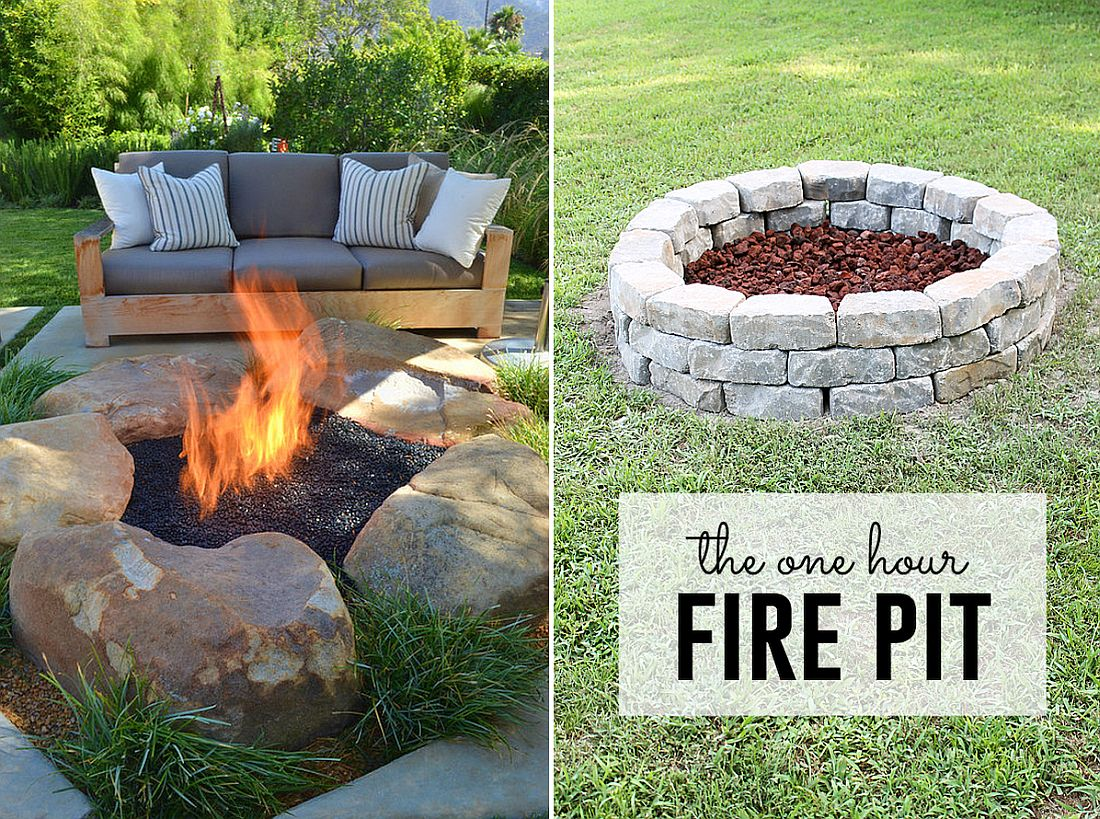 10 diy fire pits that are affordable and relatively easy for Make a fire pit cheap