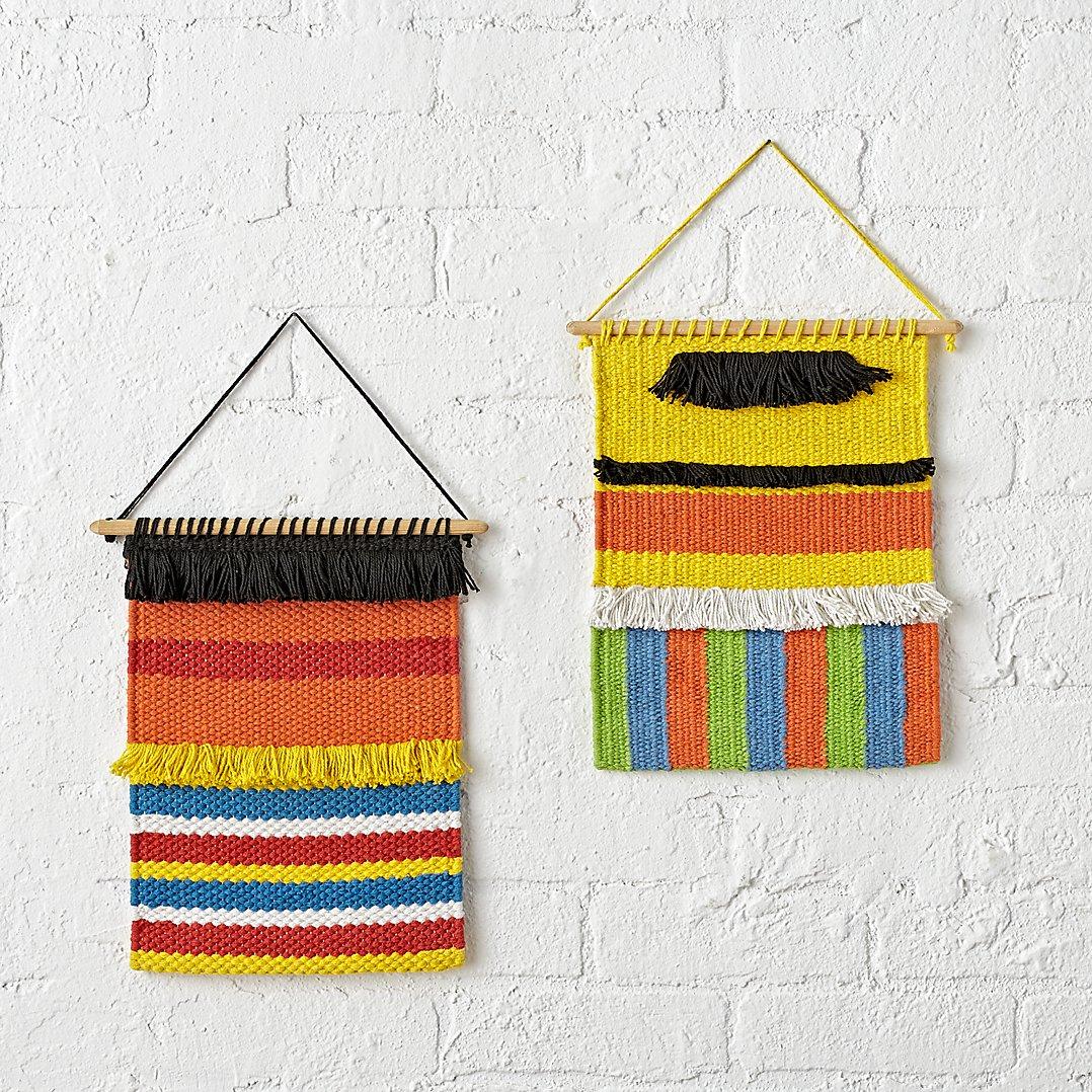 Sesame Street wall hangings