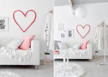 Simple-and-elegant-DIY-Valentine's-Day-Wall-Heart-217x155
