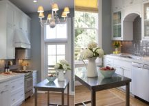 Space-savvy-kitchen-in-white-and-gray-with-small-stainless-steel-island-217x155