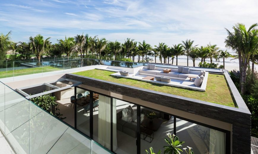 This Luxurious Seaside Villa Sits on One of the World's Most Beautiful Beaches!