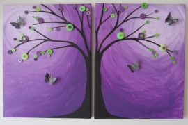 Inspired by Ultra Violet: Best DIY Crafts that Usher in Purple Glow