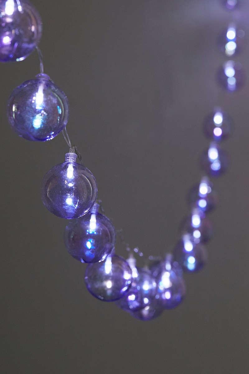 Violet-string-lights