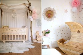 Gorgeous Modern Nurseries with Whimsical Shabby Chic Charm