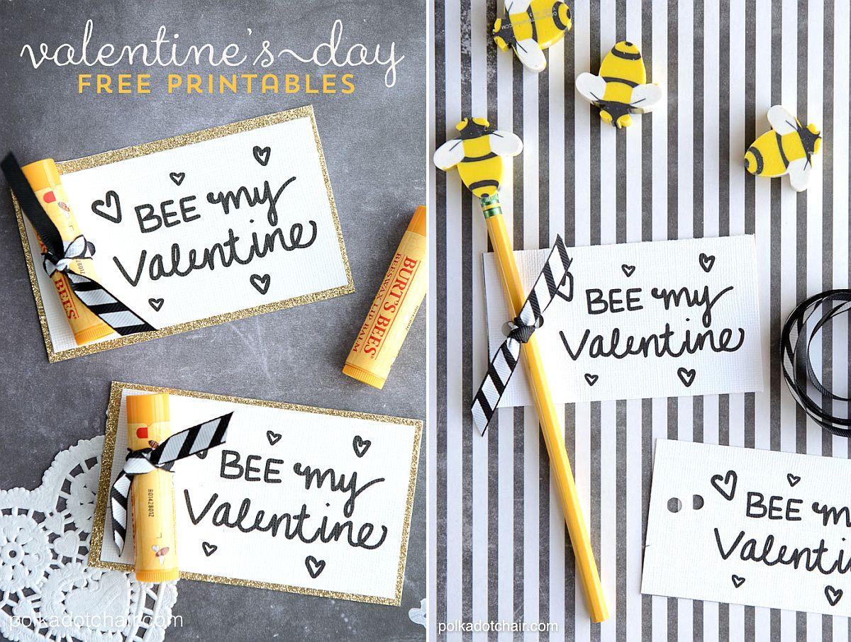Bee My Valentine DIY Cards