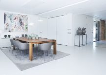 Contemporary-dining-room-in-white-with-a-wooden-table-217x155
