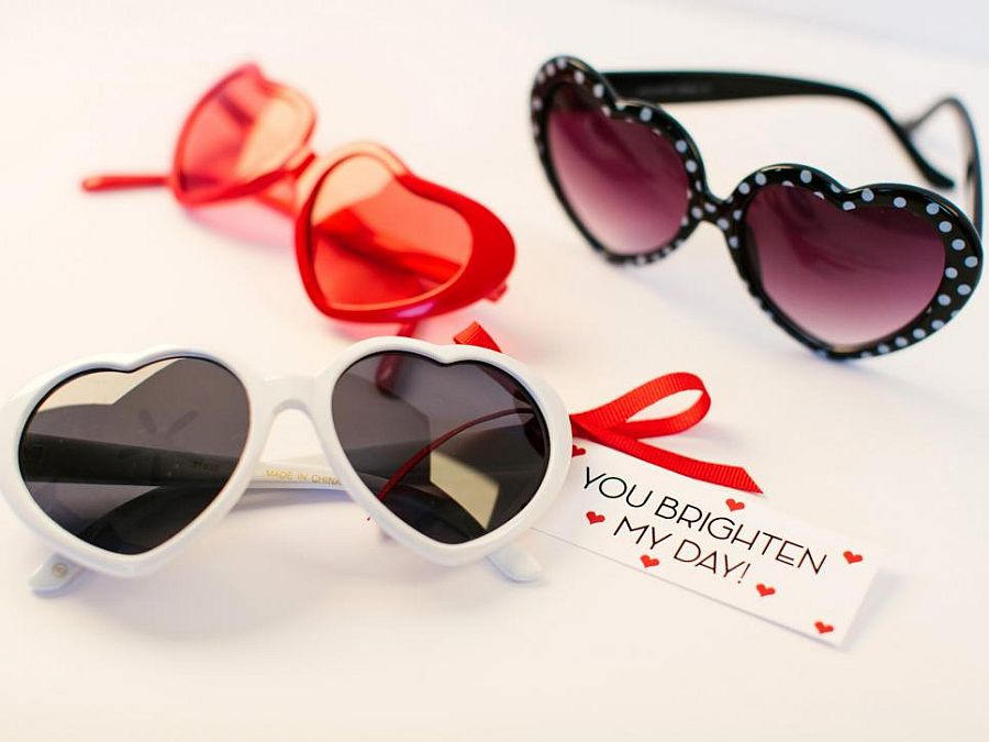 Cool sunglasses with You Brighten My Day printable!