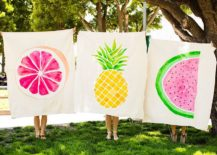 DIY-Picnic-Blankets-made-Out-of-Drop-Cloths-217x155