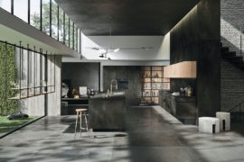 A Minimalist's Dream: Polished Way Materia Kitchen for the Urban Home