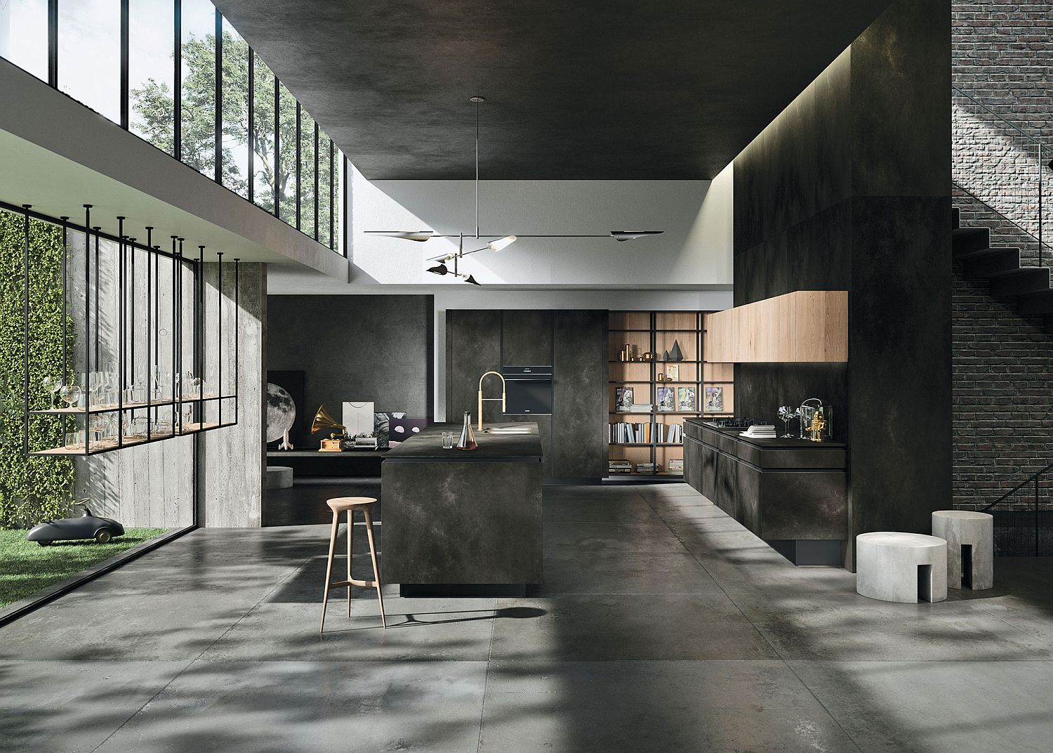 A minimalist s dream polished way materia kitchen for the for Design cuisine