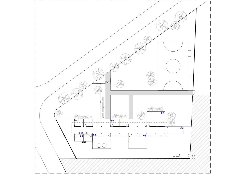 Floor Plan of JAMDS Social Project in Brazil