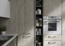 Floor-to-ceiling-shelving-and-cabinets-of-the-Fun-kitchen-217x155