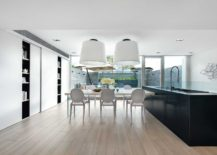 Kitchen-and-dining-space-of-the-contemporary-home-in-Hong-Kong-217x155