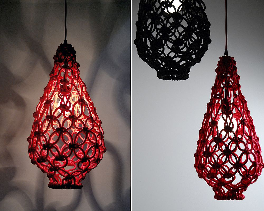 Macrame Light Shade by Satelight