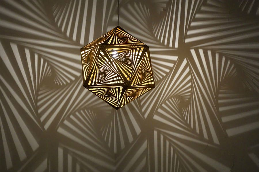 Mesmerizing display of shadown and lights created by COZO Lights