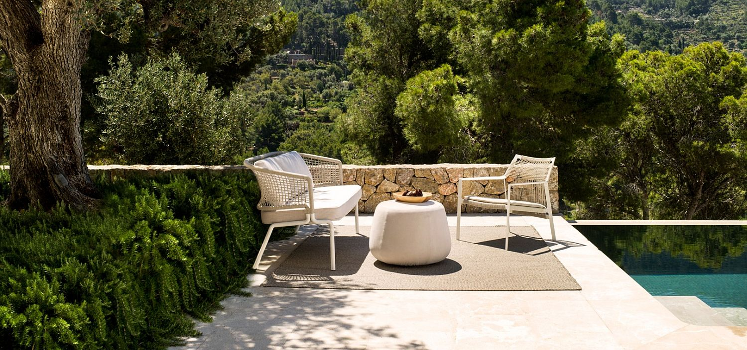 Nodi collection of outdoor chairs and loungers
