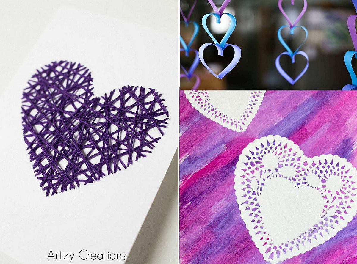 Trendy And Cute Diy Purple And Violet Valentine S Day Crafts