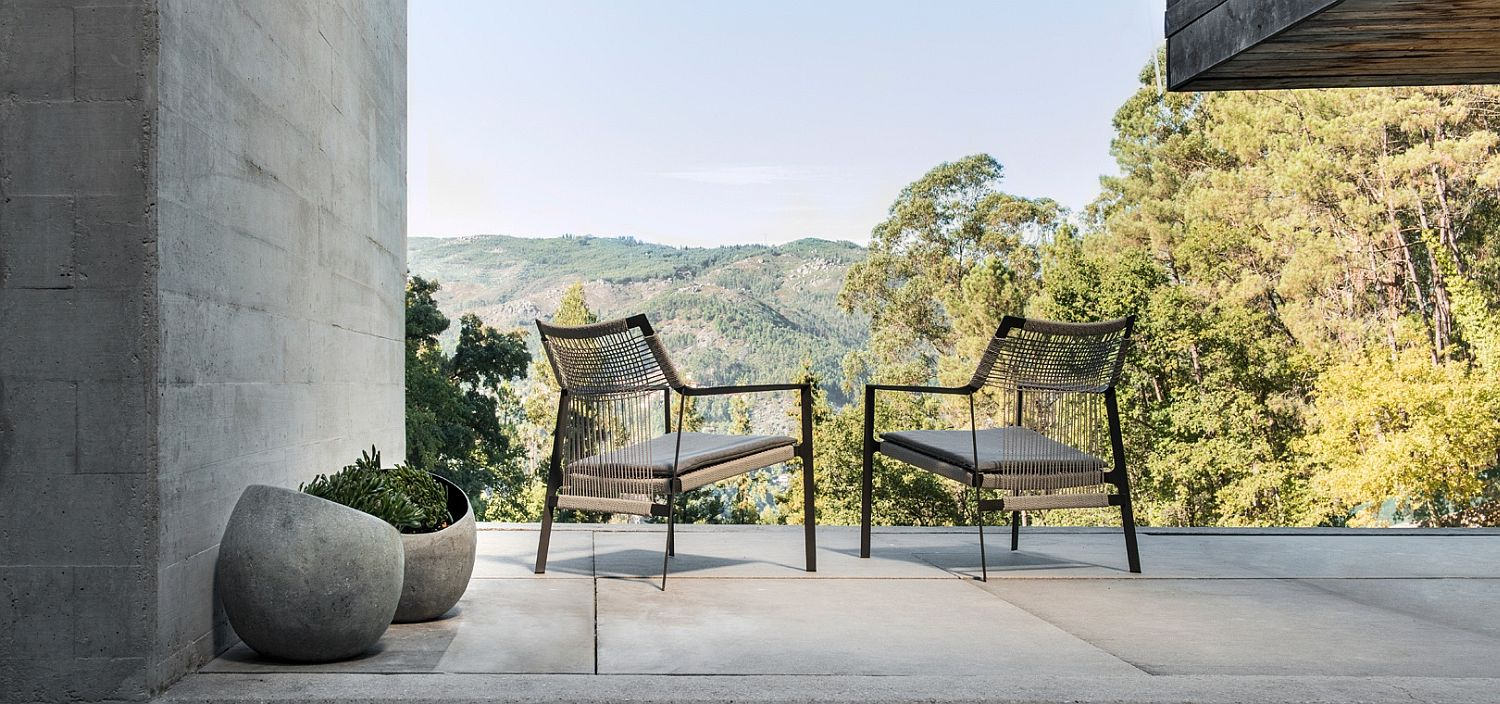 Relaxing-outdoor-chair-designed-for-Tribu-combines-natural-elegance-with-modernity