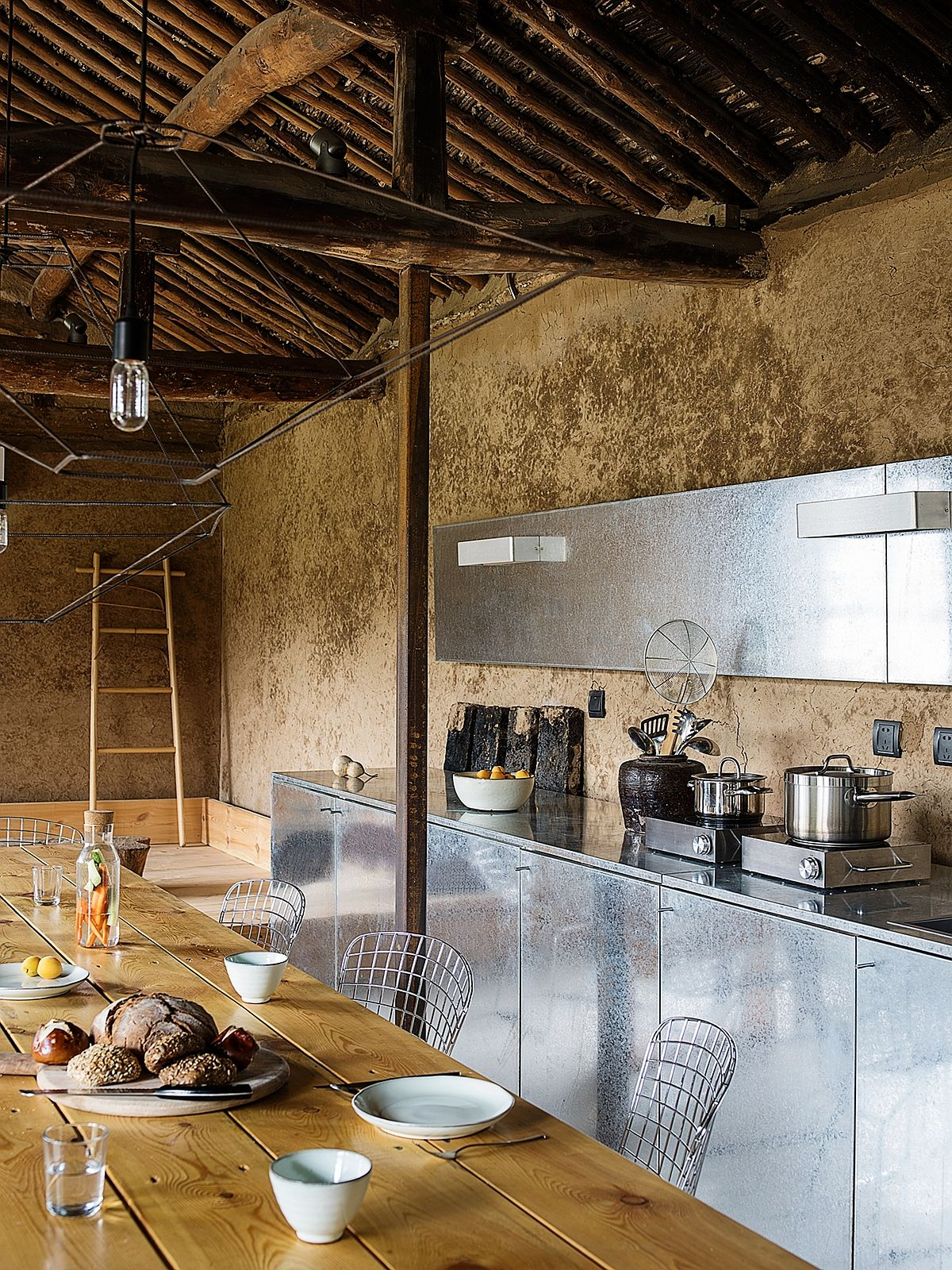 Revived rural home combines efficiency and style in a relaxing fashion