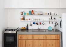 Small-single-wall-kitchen-design-with-a-multitasking-workstation-217x155