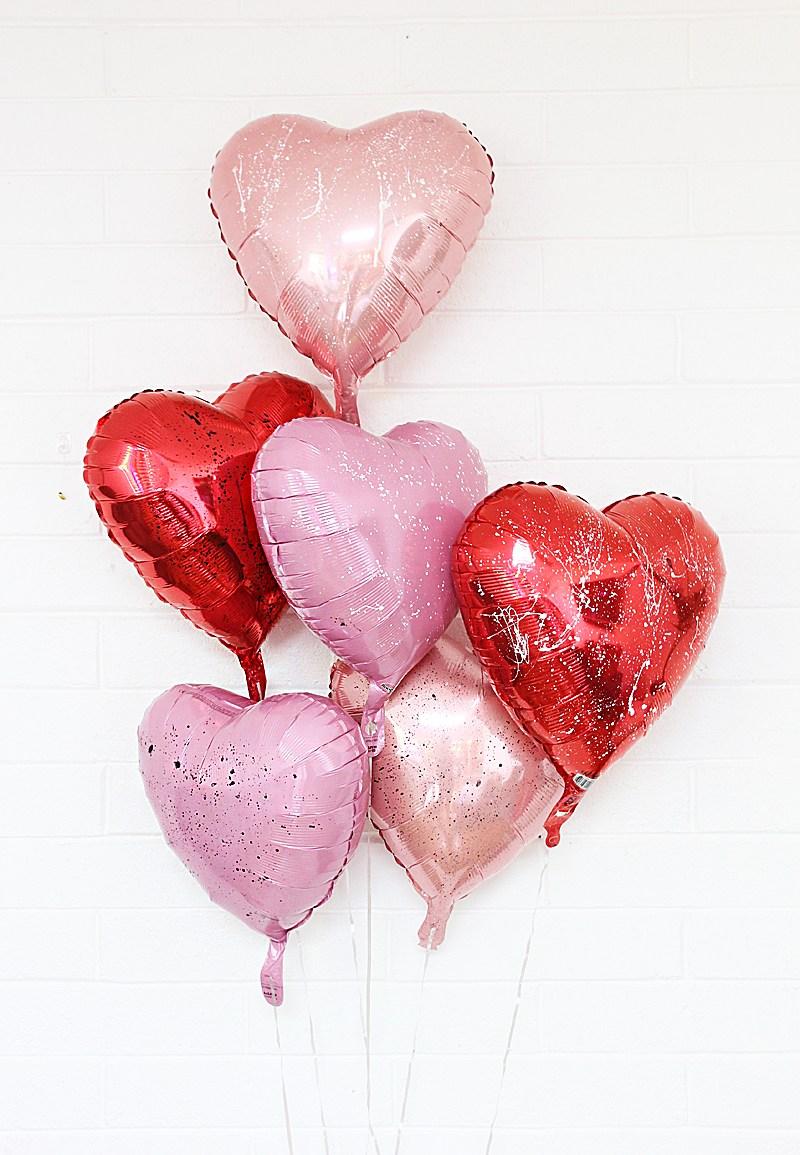 Splatter-paint-Valentines-Day-balloons