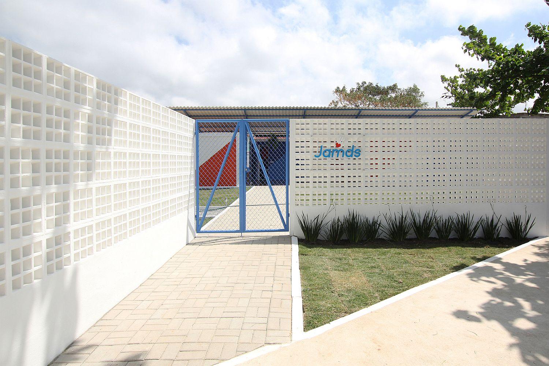Street facade of JAMDS Social Center