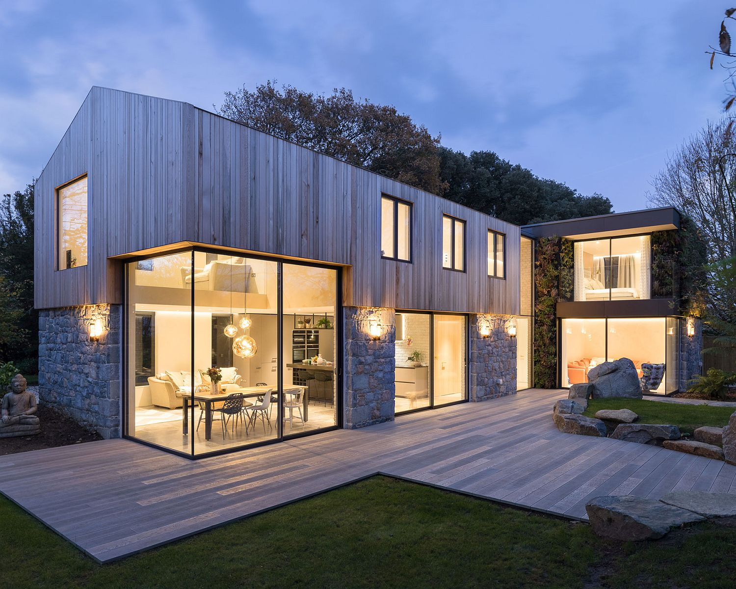 Sustainable and eco-sensitive contemporary home in St Peter Port, Guernsey