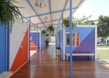 Unique-and-colorful-interior-of-the-social-center-with-fiber-cement-roof-217x155