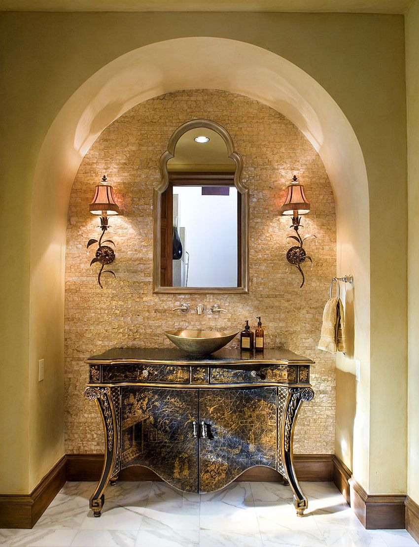 Arches are a staple of Mediterranean style
