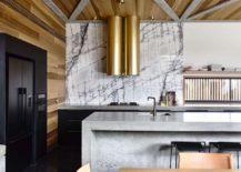 Brilliant-marble-backsplash-and-metallic-chimneys-for-the-modern-kitchen-217x155