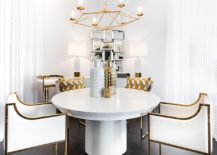Contemporary-dining-room-in-white-and-gold-217x155