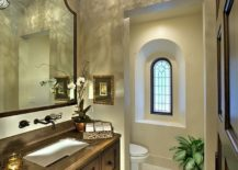 Curved-ceiling-and-custom-Moroccan-lighting-for-the-Mediterranean-powder-room-217x155