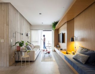 Garú Apartment: Modern São Paulo Home in Wood and Concrete