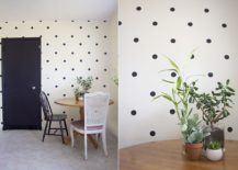 DIY-Polka-Dot-Accent-Wall-Idea-217x155
