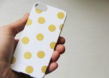 DIY-iPhone-Case-with-Polka-Dot-Design-217x155