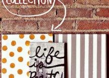 Dashing-DIY-Polka-Dot-wall-art-idea-217x155