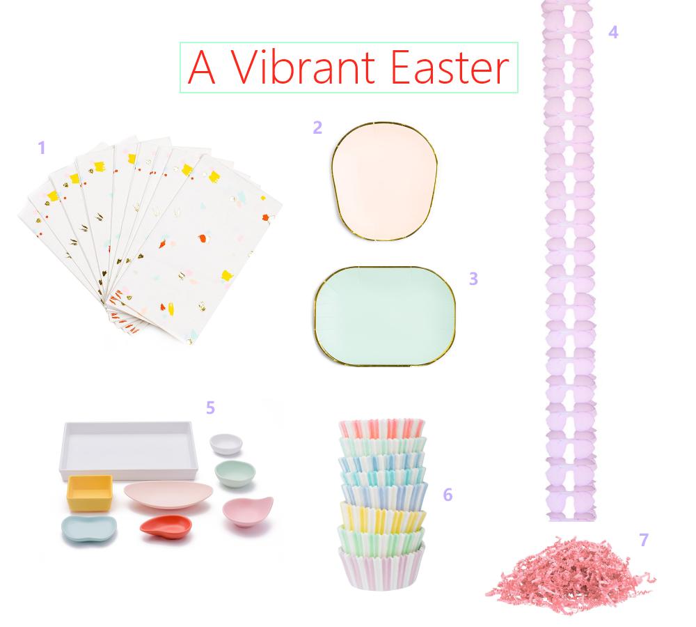 Easter-palette