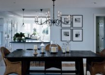 Elegant-use-of-slim-black-chandelier-in-the-modern-dining-room-217x155