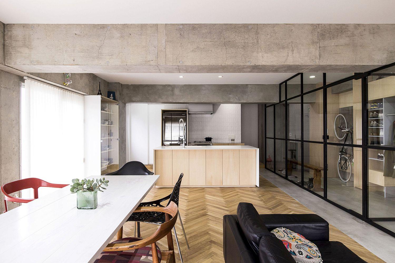 Exquisite interior of the Tokyo apartment
