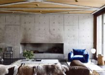 Fabulous-concrete-walls-for-the-living-room-along-with-hardwood-ceiling-217x155