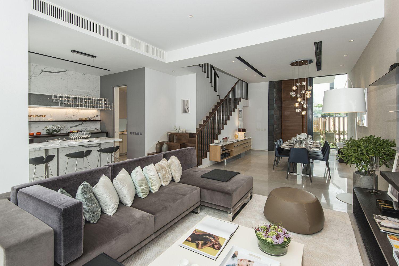 Ground floor of Whitesands modern home