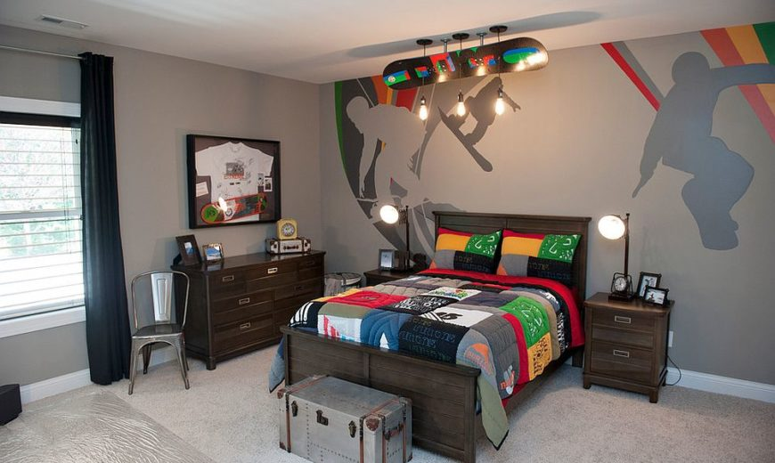 Exquisite Kids' Rooms that Tap into the Beauty of Edison Bulbs