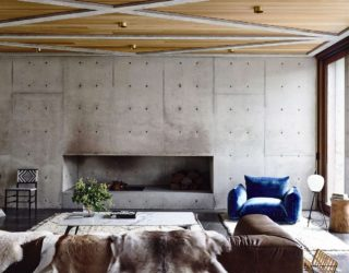 How to Design a Wabi-Sabi Inspired Home Anchored in Concrete