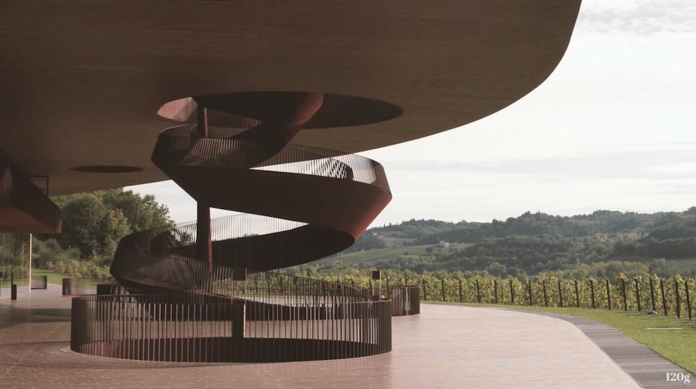 Modern Tuscan architecture