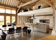 Old-barns-turned-to-modern-homes-are-perfect-spaces-to-try-out-the-kitchen-under-the-mezzanine-level-217x155