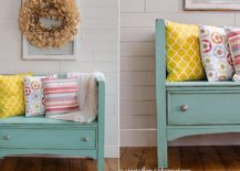 Old-dresser-turned-into-a-cool-bench-for-the-entryway-217x155